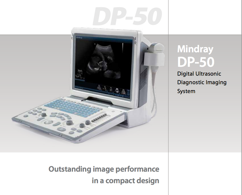 DP50 MINDRAY ULTRASOUND UNIT